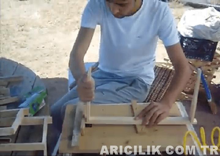 çerçeve çakma işlemi 4