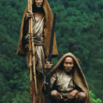 Nepal Arıcıların Arılardan Bal Alması 18
