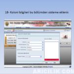 arıcılık kayıt sistemi 18