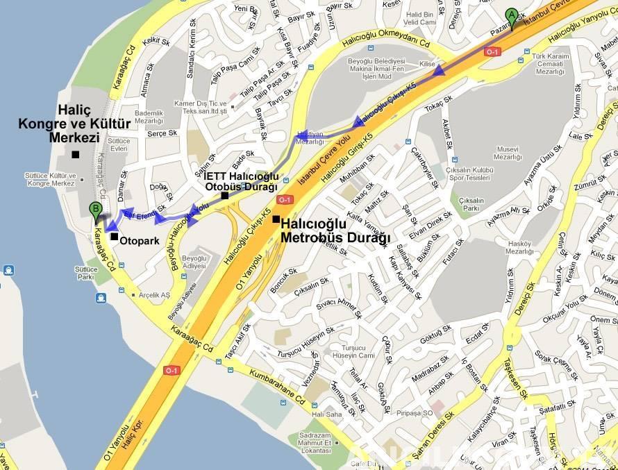 istanbul arıcılık fuarına nasıl gidilir