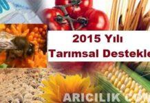 2015 Yılı Tarımsal Destekler