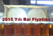 2015 Yılı Bal Fiyatları