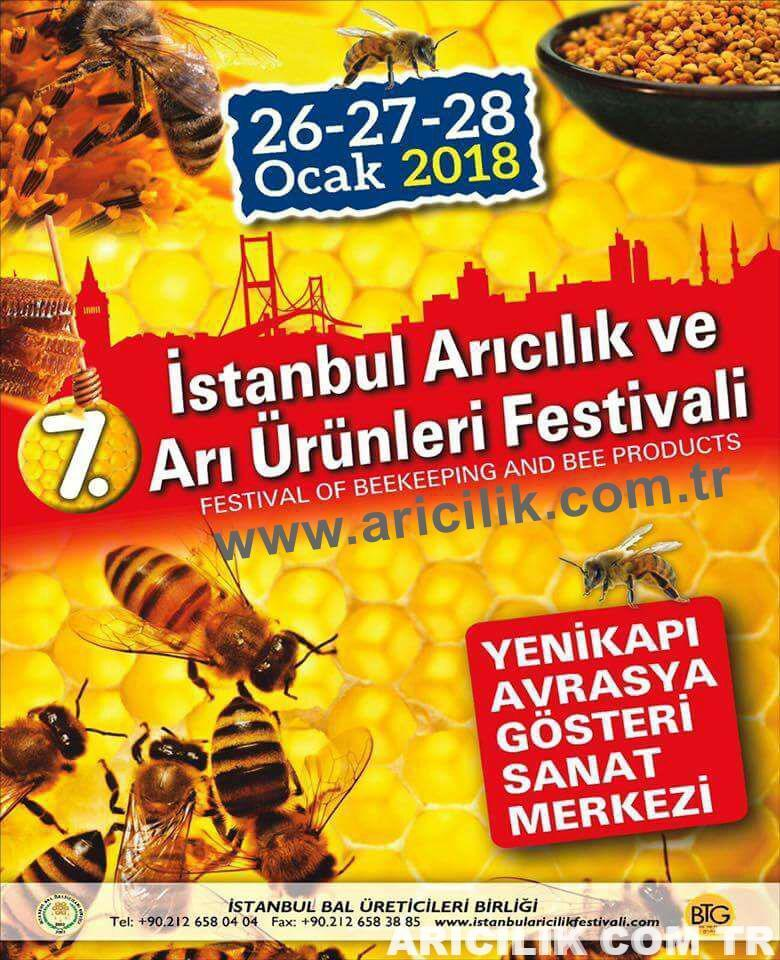 2018 istanbul arıcılık ve arı ürünleri festivali