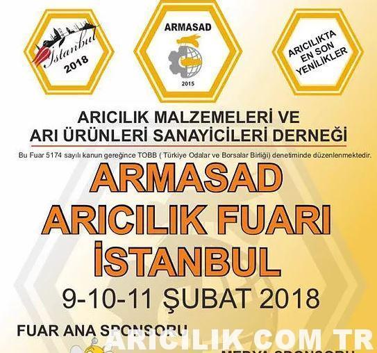 2018 Armasad İstanbul Arıcılık Fuarı