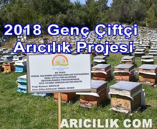 2018 Genç Çiftçi Arıcılık Projesi