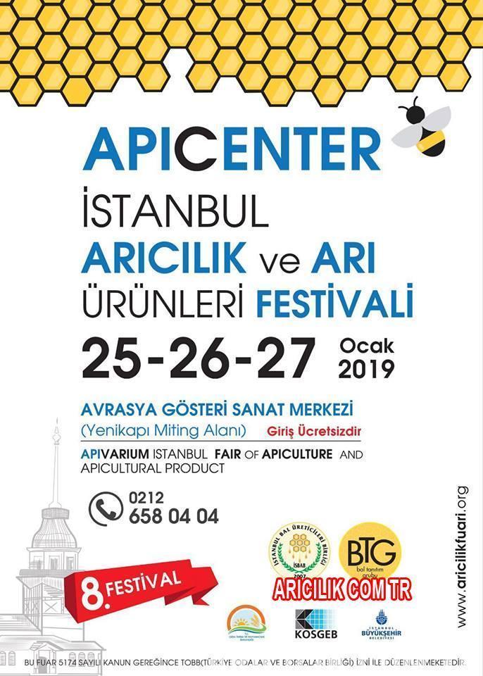 2019 İstanbul Arıcılık ve Arı Ürünleri Festivali