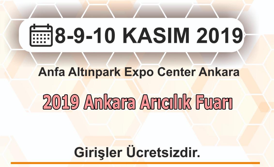2019 ankara arıcılık fuarı