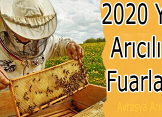 2020 yılı arıcılık fuarları