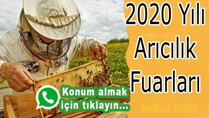 2020 yılı arıcılık fuarları 1