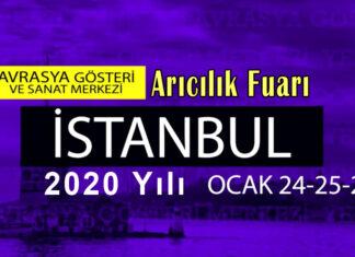 2020 istanbul avrasya arıcılık fuarı