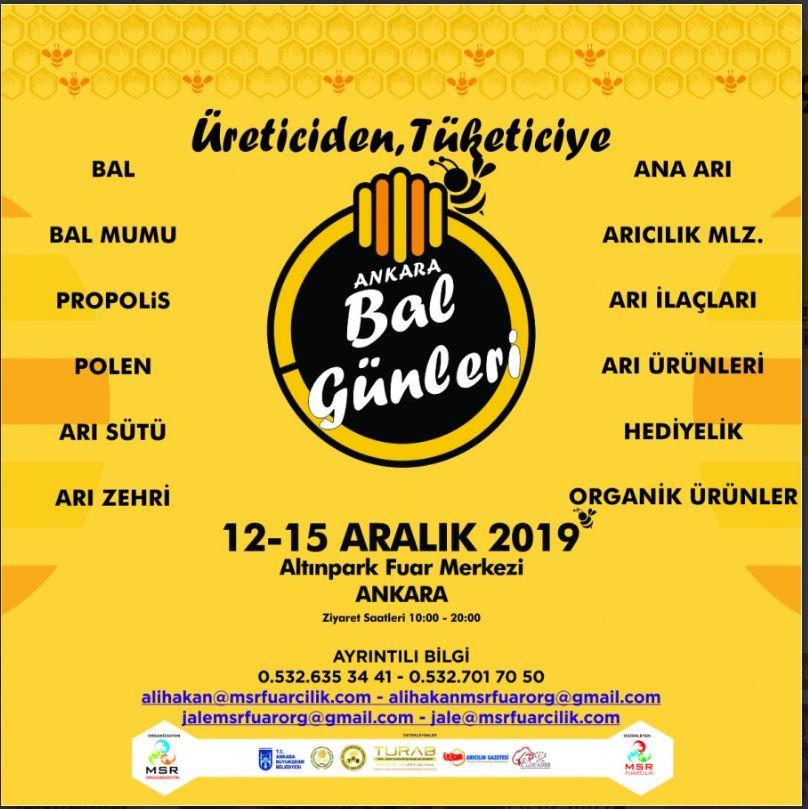 2019 Yılı Ankara Bal Günleri (Festivali)